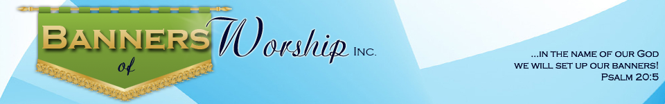 Logo Banners of Worship